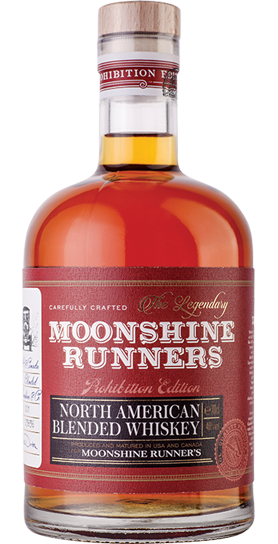 Moonshine Runners North American Blended Whiskey