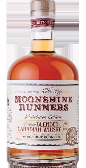 Moonshine Runners Blended Canadian Whiskey
