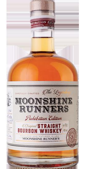 Moonshine Runners Straight Bourboun Whiskey